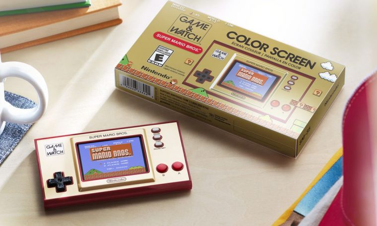 Nintendo's new game and watch handhold proves the company is on its way