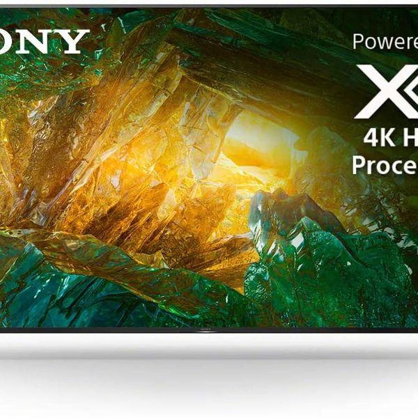 Sony 55-inch X800H LED 4K Smart TV