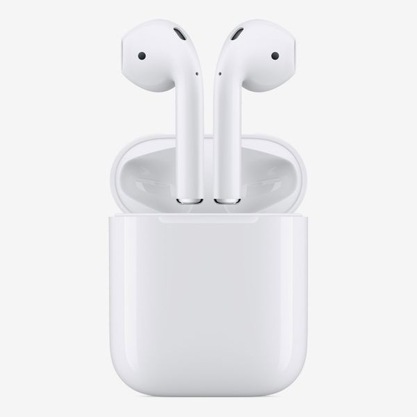 With Apple AirPod charging case
