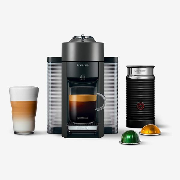 Nespresso Braville Vertio Espresso Machine with Aeroxino Milk Fruther