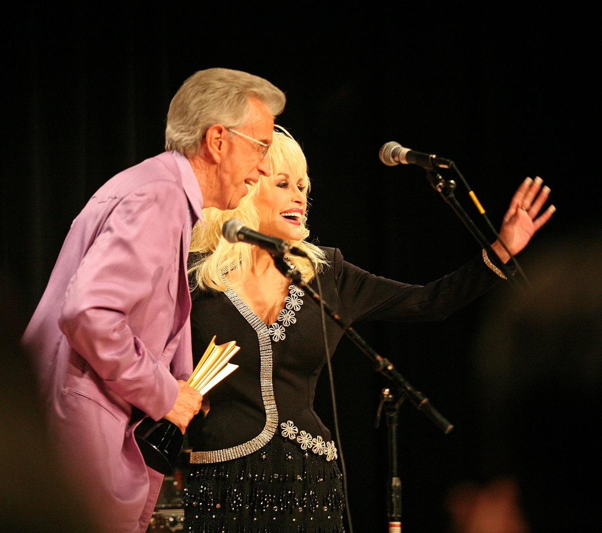 Porter Wagner and Dolly Parton