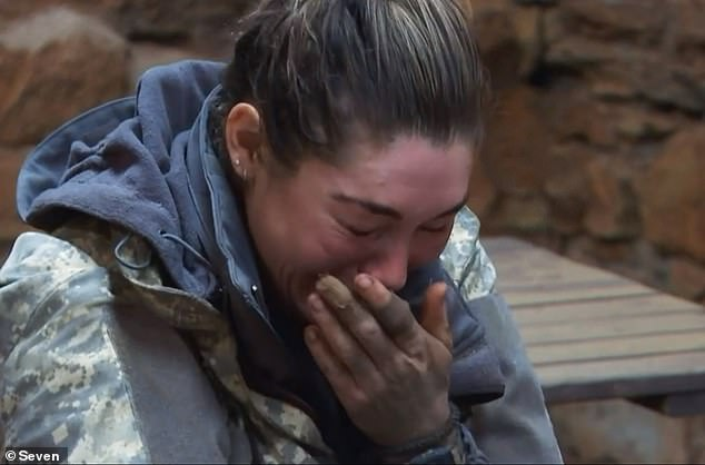Breaking: Back at base camp, Erin makes an emotional video phone call, citing the example of her seven-year-old husband, an English rapper.