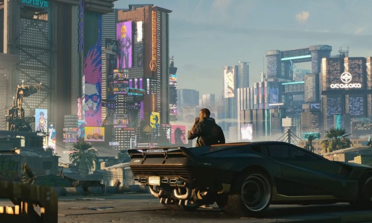 Here is the PC gameplay of Cyberpunk 2077 compared to PS4 Pro