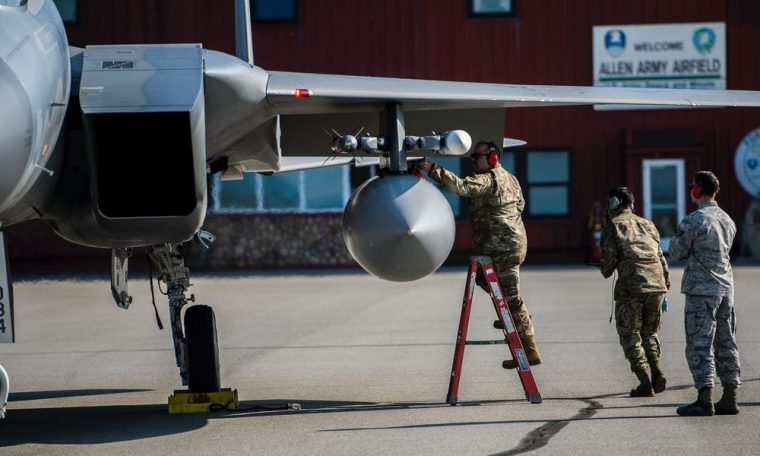 The Air Force is studying new, simpler bases to fight in the Pacific