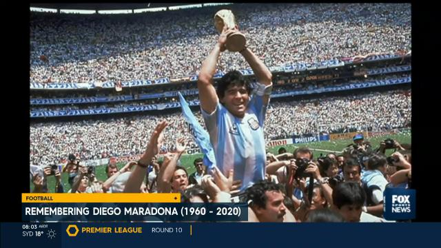 Farewell Diego Maradona