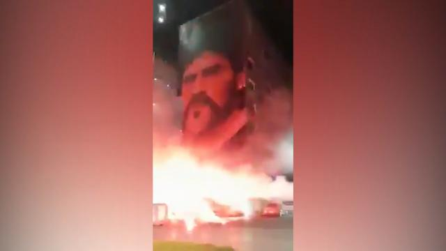 Naples bid farewell to Maradona