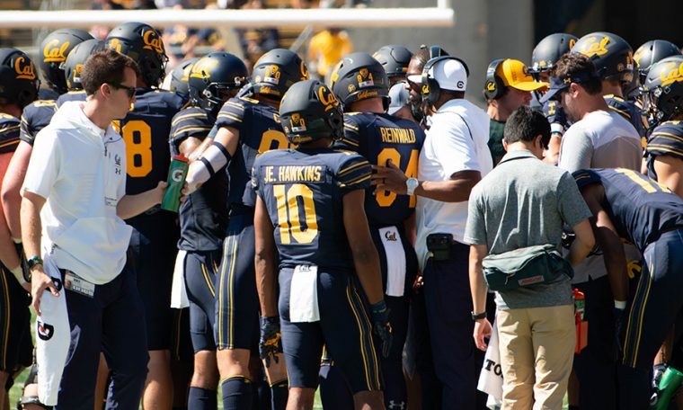 Cal plays football without a key defensive lineman at UCLA