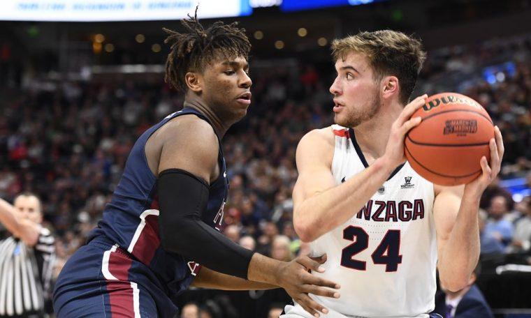 College Basketball Ranking: Gonzaga No. 1 in the 2020-2021 Precision Poll