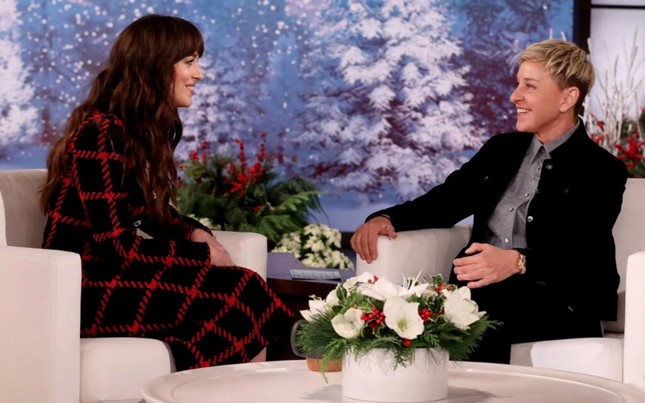 Fans hail Dakota Johnson for a past Ellen DeGeneres snub