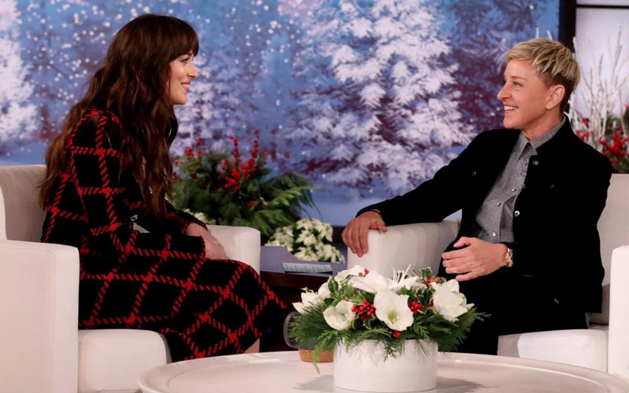 Dakota Johnson praised Alan DeGeneres for