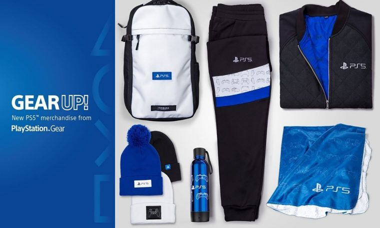 Displays quantitative responses such as Sony PS5 branded clothing