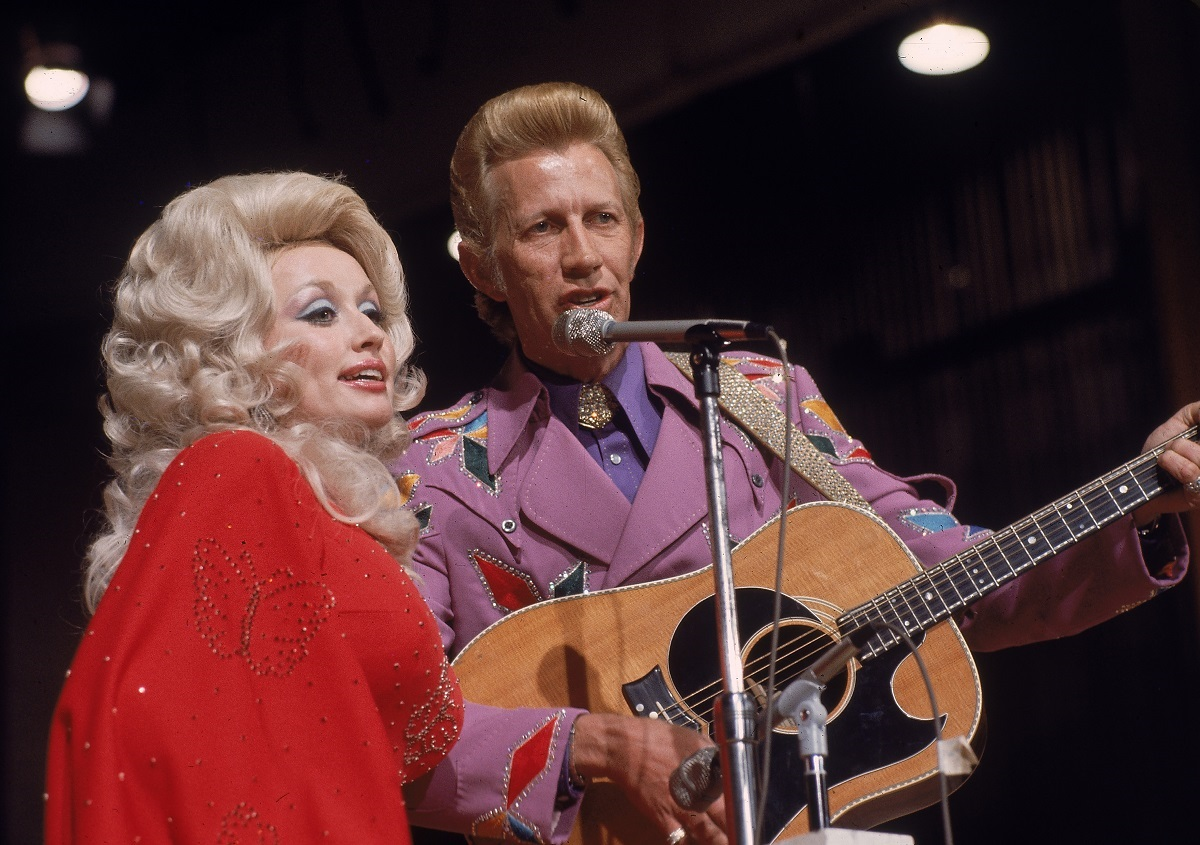 Dolly Parton and Porter Wagner