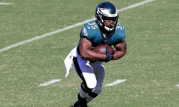 Eagles' Boston Scott returns to shine for Philadelphia