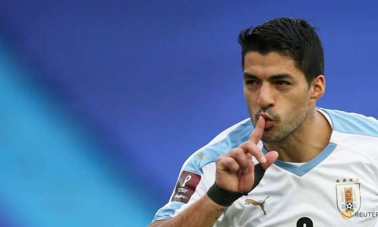 Football: Luis Suarez tests positive for Covid-19 before WC qualifier v Brazil