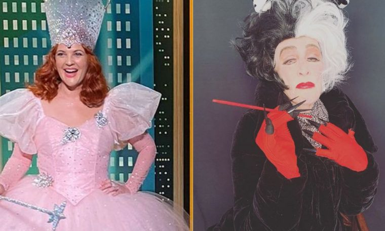 From Drew Barrymore to Glenn Close, Hollywood's Best Halloween Costumes of 2020