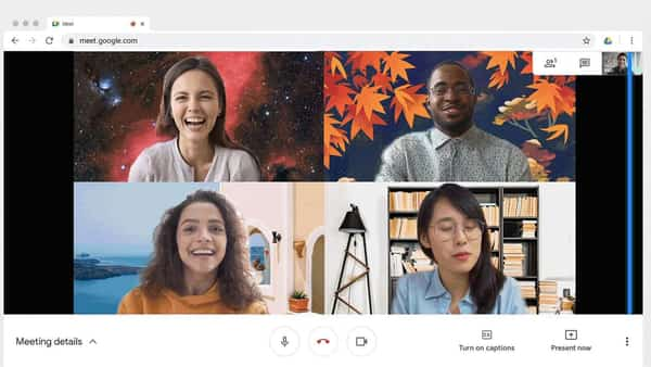 Google Meet has now gradually started rolling out a feature that will help you customise backgrounds on its desktop version of the app (Google )