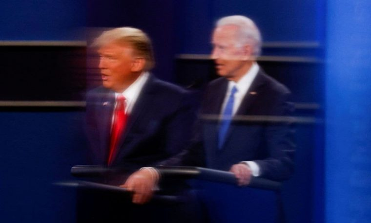 Margins between Biden and Trump are shrinking as the big date approaches