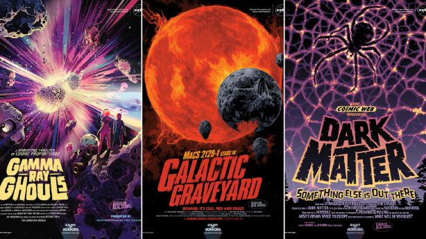 New NASA posters share galaxy horrors for Halloween