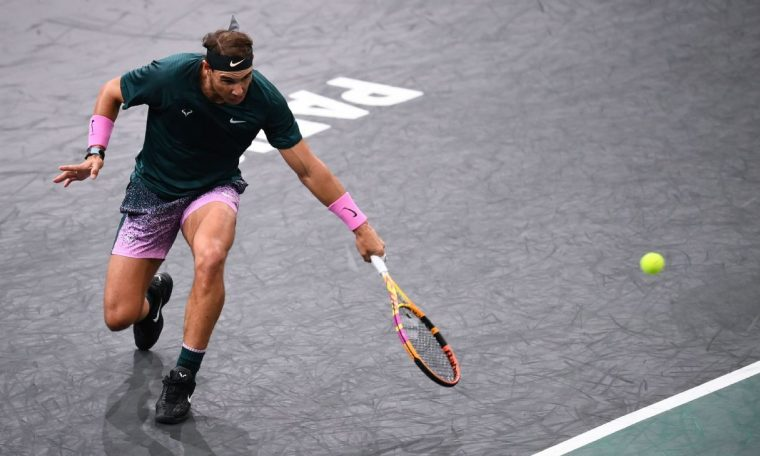 Rafael Nadal beats Jordan Thomson to reach Paris Masters quarterfinals
