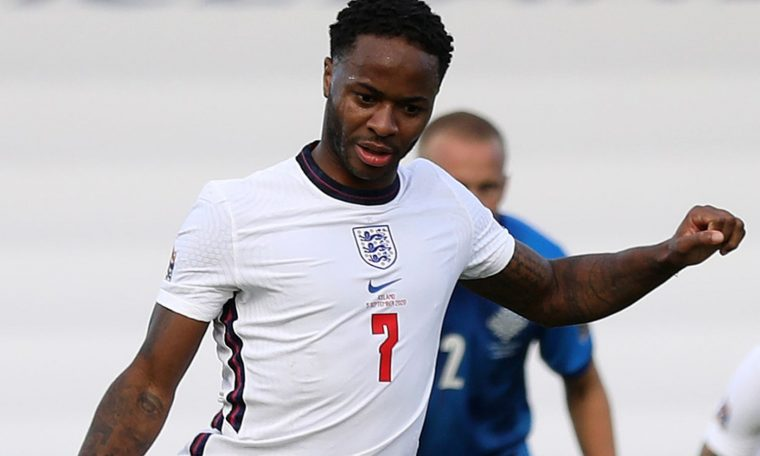 Raheem Sterling has scored 11th goals in his past 12 England appearances