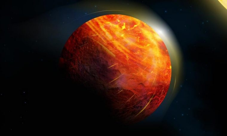 Scientists discover unique hell planet where rain falls Rocks and oceans are made of lava