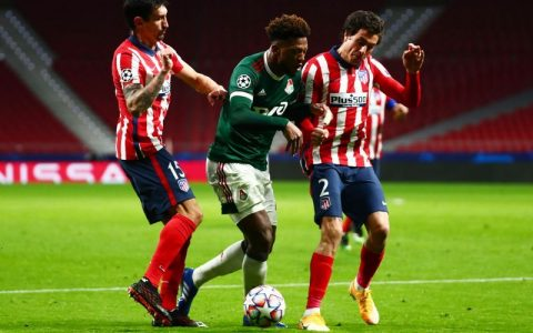 Soccer: Atletico locomotive held to disappoint domestic draw