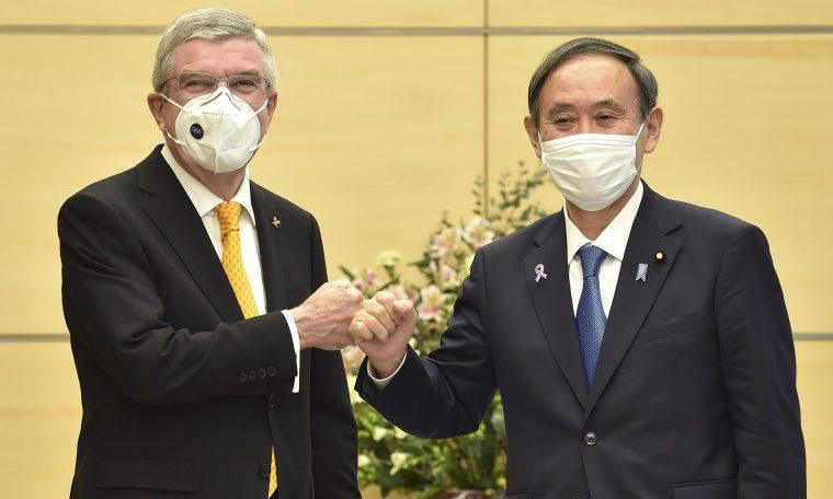 Tokyo Olympics 'participants' encourage vaccinations