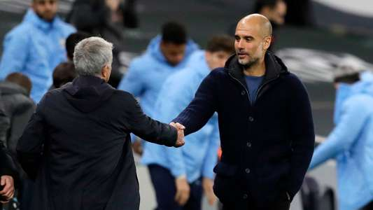 Tottenham are currently the biggest contenders in the Premier League - Guardiola