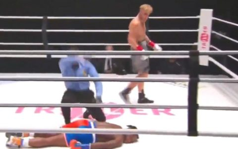 Utah star Jake Paul knocked out former NBA player Nate Robinson on the Tyson-Jones undercard.