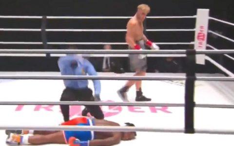 Utah star Jake Paul knocked out former NBA player Nate Robinson on the Tyson-Jones undercard.
