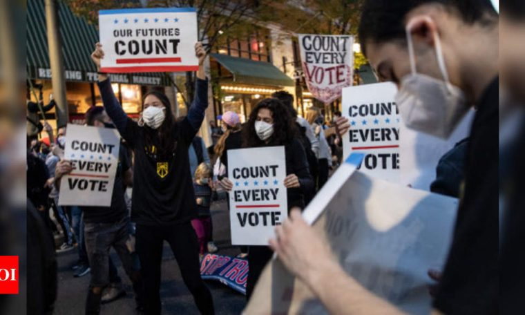 Why is the US vote count taking so long?