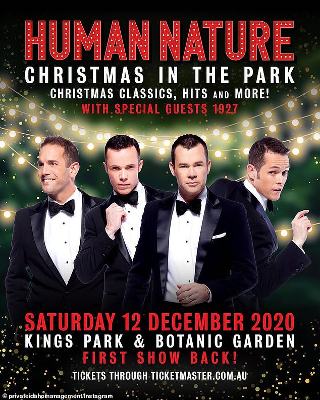 Christmas Celebrations: Boy bands will present hit songs from Christmas albums and thick covers as well as their latest single nodes just like you.