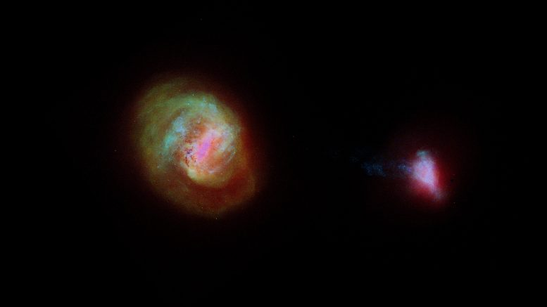 Gaia's view of galaxies near the Milky Way