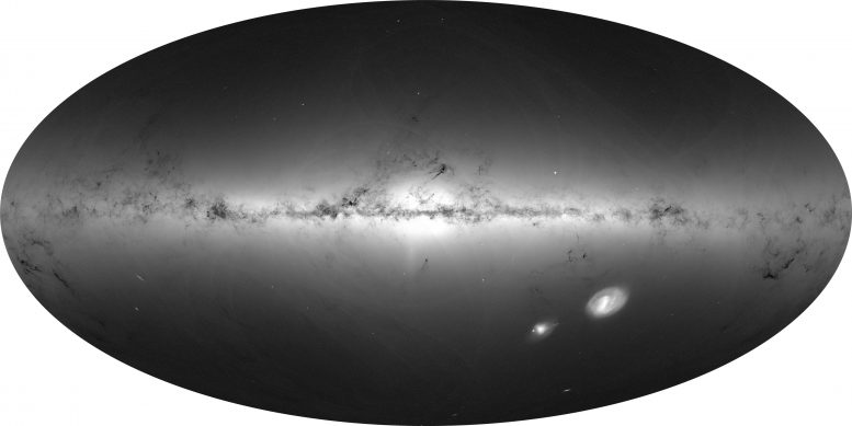 Density of stars from Gaia's initial data release 3