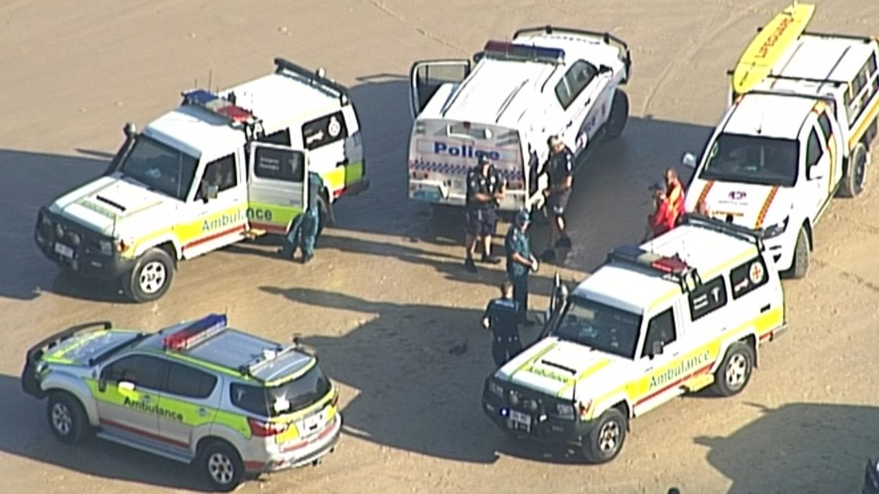 Two men in their 30s died on the spot.  Picture: 7 News