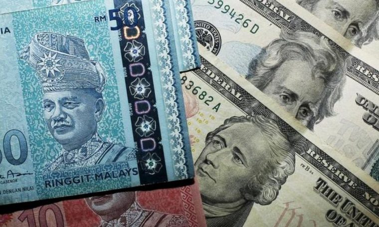 Ringgit lost money at a low of 120 bps against the US dollar