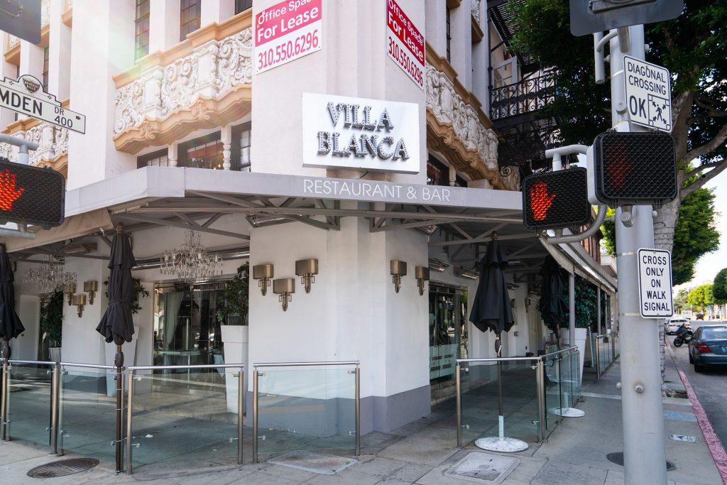 Villa Blanca, Liver Vanderpump's restaurant in Beverly Hills