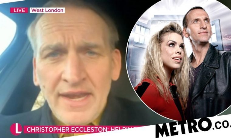 Christopher Eccleston will return to the doctor when 'hell freezes'