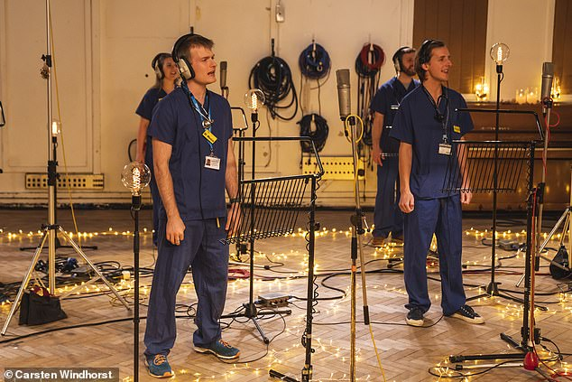 Collaboration: Justin and Core recently teamed up to record a new version of Holi, with all the profits going to NHS Charities Tugrid and Levisham and Greenwich NHS Trust Charity - to help medical staff on the front lines of the COVID-19 epidemic.