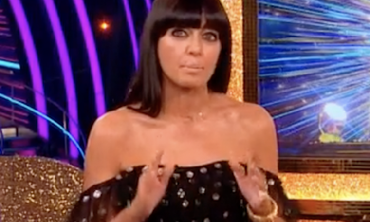 Claudia Winkleman is silent as she praises the hard-working team.