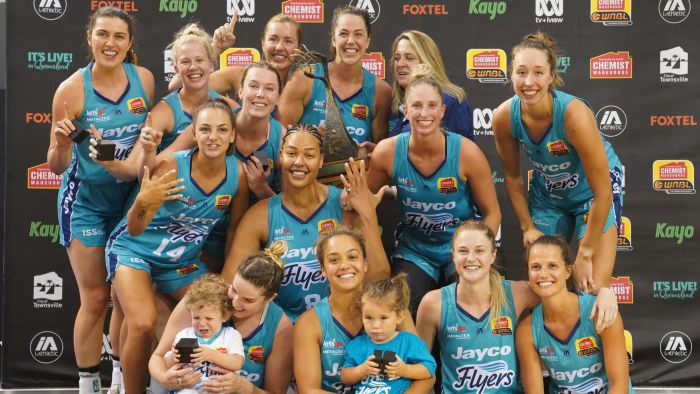 The Southside Flyers beat the Town Nasville Fire 99-82 to win the WNBL Championship.