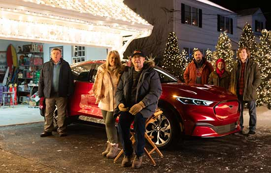 Ford Mustang Re-Introduces Mach-E Commercial Christmas Classic in US with Chevy Chase