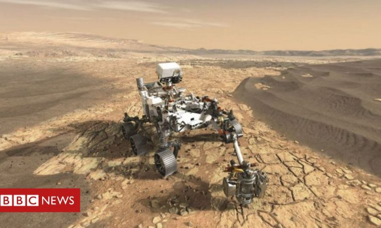 Mars: '7-minute panic' of robot persistence in search of life on the red planet
