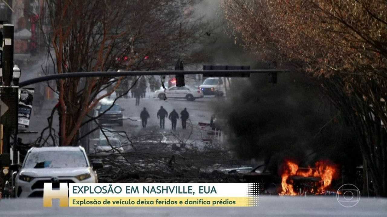 Vehicle explosion in Nashville, US injured and damage to buildings