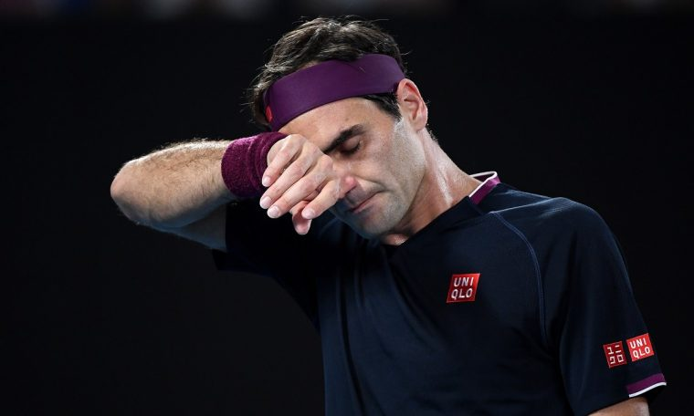 Agents say Roger Federer decided not to play Australian Open.  Sneakers