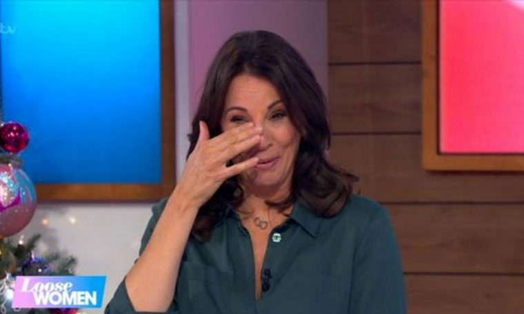 Andrea McLean's outfit breaks the rules on loose women during the final episode