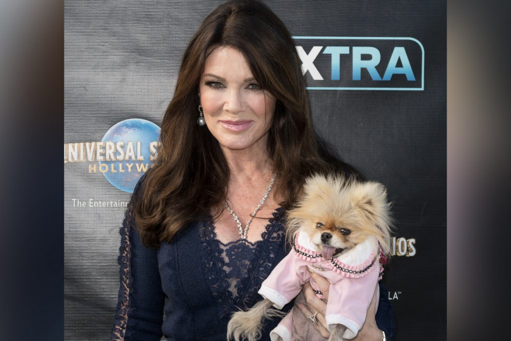 Lisa Wonderpump and her dog Giggy