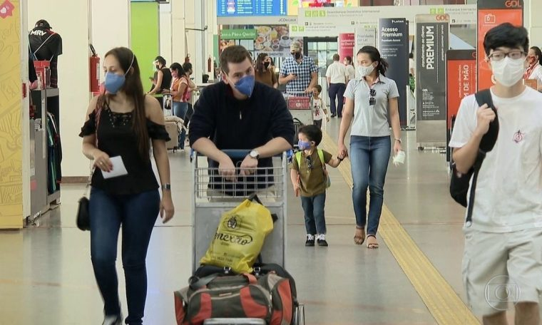 Brazil's suspicion on arrival of flights from the United Kingdom due to a coronovirus variant.  National newspaper