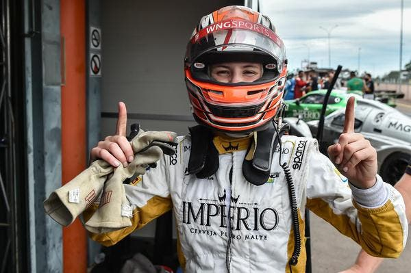 Bruna Tomaselli from Santa Catarina will run in the women's section and dream of Formula 1