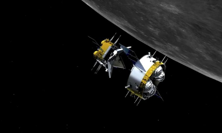 China became the first country to run robotic docking in the lunar cycle